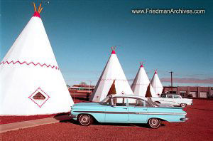 Wigwam and Blue Chevy