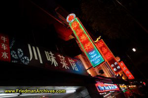Neon Signs in Chinatown