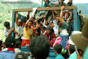 Nepal Images - Lightly Loaded Truck
