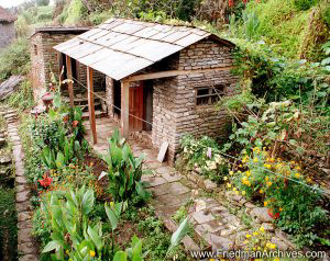 Nepal Images - Outhouse