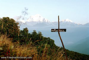 Nepal Images - Pun Hill