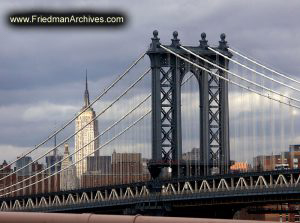 59th Street Bridge and Empire State Building