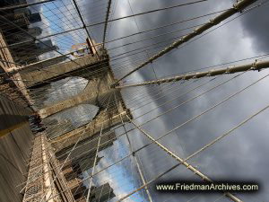 Brooklyn Bridge Diagnal
