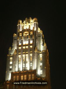 Famous Building at Night