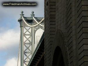 Manhattan Bridge and Support