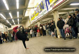Performer in Subway