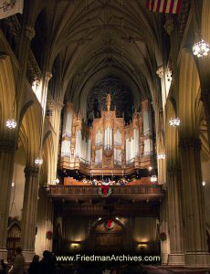 Pipe Organ in Cathedral