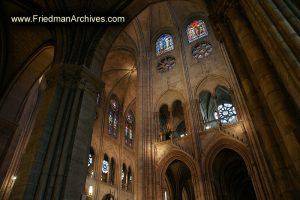 Notre Dame Cathedral Interior