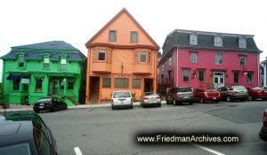 Nova Scotia Colorful Houses