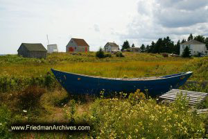 Boat in the Meadow