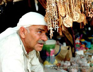 Old Arab in Shuk