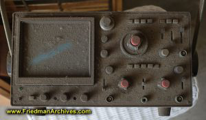 Oscilloscope dusty