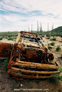 Overturned Car (Vertical)