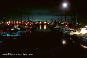 Oxnard Bay by Moonlight
