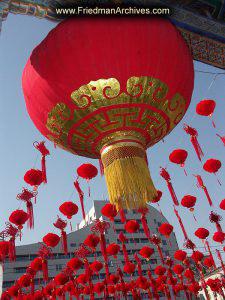 More Hanging Red Lanterns