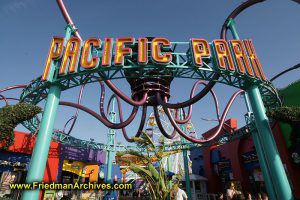 Pacific Park Sign