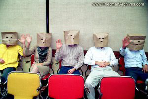 Paper Bag Audience