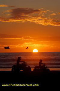 Pismo Beach Quad Sunset
