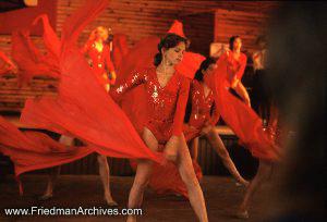Red Dancing Girl