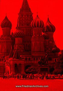 Red St. Basil's Cathedral