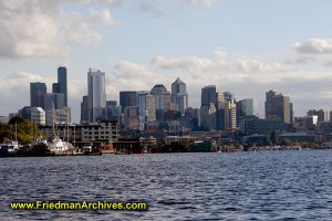 Seattle From the Water (Horizontal)