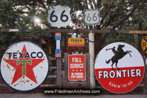 Sedona Old Signs