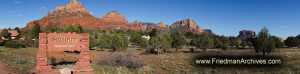 Sedona Panorama 5 Sedona Sign