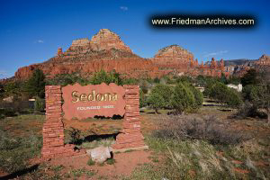 Sedona Sedona Sign Horizontal
