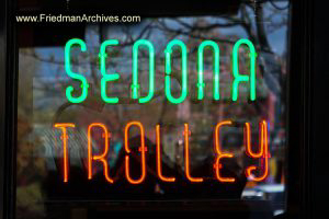 Sedona Sedona Trolly Neon Sign