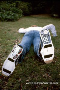 Shoe Phone on Ground