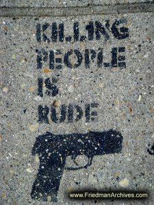 Sidewalk Graffitti