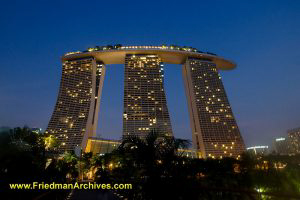 Singapore / The Marina Bay Sands Hotel