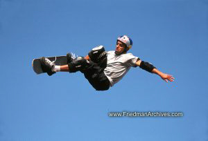 Skateboard Images - Flying Solo