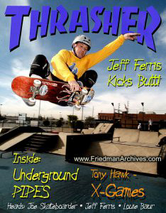 Skateboard Images - Jeff Ferris