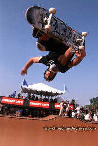 Skateboard Images - Upside Down