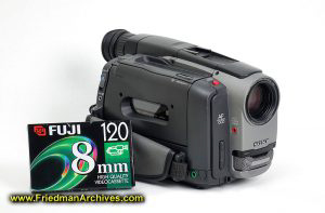 Sony camcorder with 8mm tape