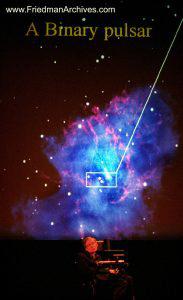 A Binary Pulsar