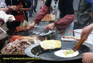 Street Food Vendor Hands