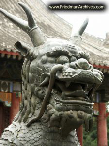 Summer Palace Dragon Head