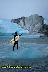 Surfing on an Iceberg