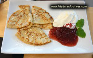 Sweden Swedish Pancakes