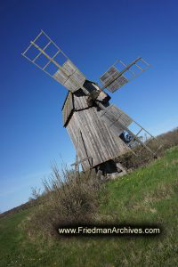 Sweden Swedish Windmill