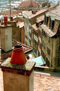 Switzerland Images European Rooftops