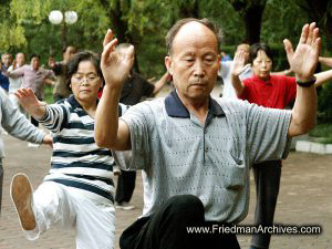 Tai Chi in Morning