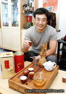 Tea Set and Host