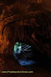 Through a Cave