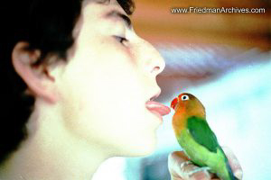 Tongue and Parakeet