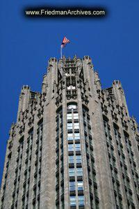 Top of Tribune Building