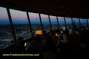 View From the Space Needle Restaurant