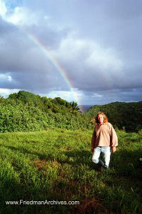 Walking with a Rainbow